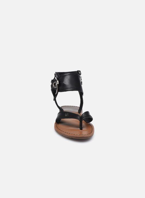 Sandales et nu-pieds Chattawak THALIE Noir vue portées chaussures