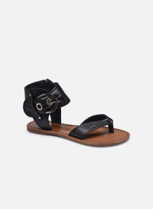 Sandales et nu-pieds Chattawak THALIE Noir vue détail/paire