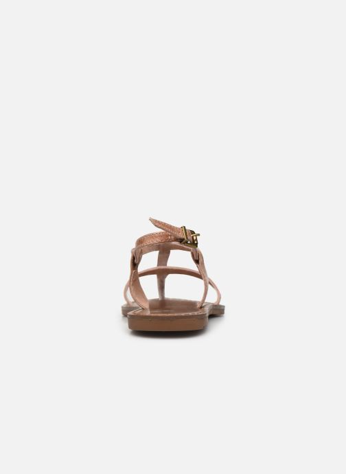 Sandals Chattawak ZHOE Beige view from the right