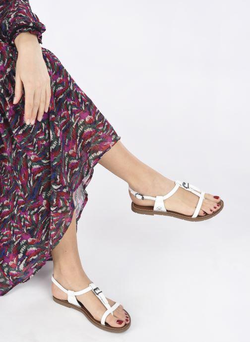 Sandales et nu-pieds Chattawak ZHOE Blanc vue bas / vue portée sac