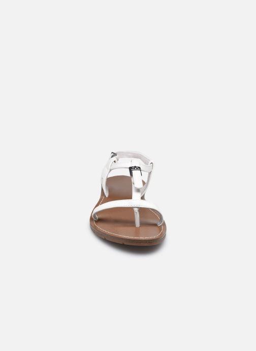 Sandales et nu-pieds Chattawak ZHOE Blanc vue portées chaussures