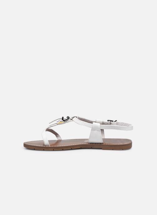 Sandales et nu-pieds Chattawak ZHOE Blanc vue face