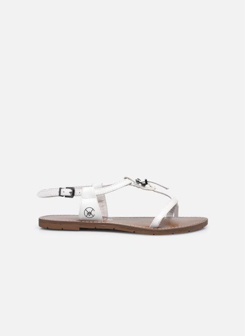 Sandales et nu-pieds Chattawak ZHOE Blanc vue derrière