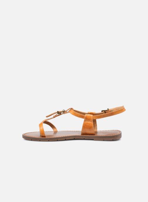 Sandali e scarpe aperte Chattawak ZHOE Giallo immagine frontale
