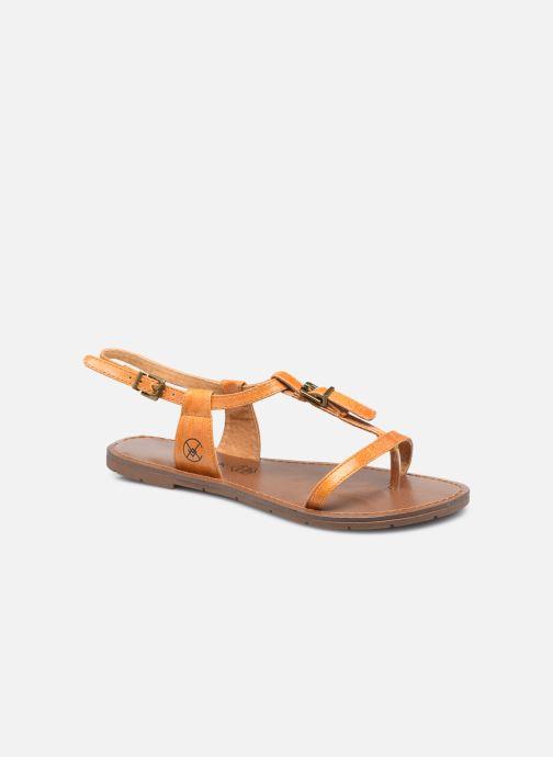 Sandales et nu-pieds Chattawak ZHOE Jaune vue détail/paire