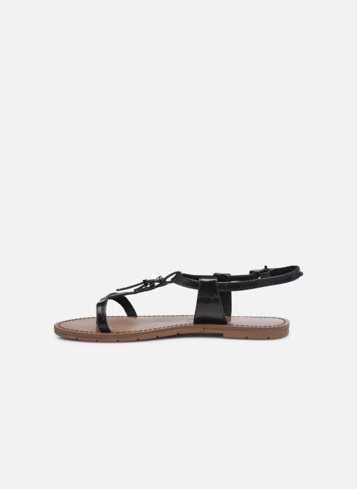 Sandales et nu-pieds Chattawak ZHOE Noir vue face