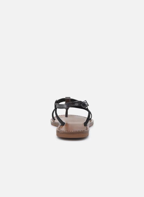 Sandales et nu-pieds Chattawak ZHOE Noir vue droite