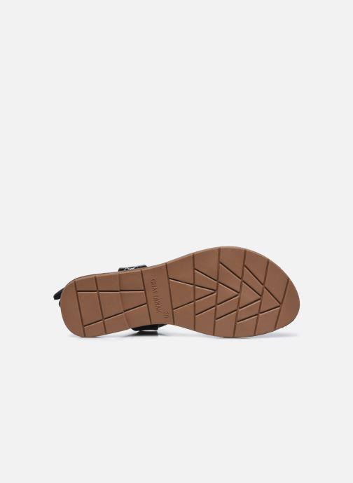 Sandales et nu-pieds Chattawak ZHOE Noir vue haut
