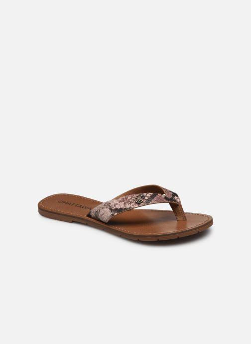 Slippers Chattawak TANGO Bruin detail