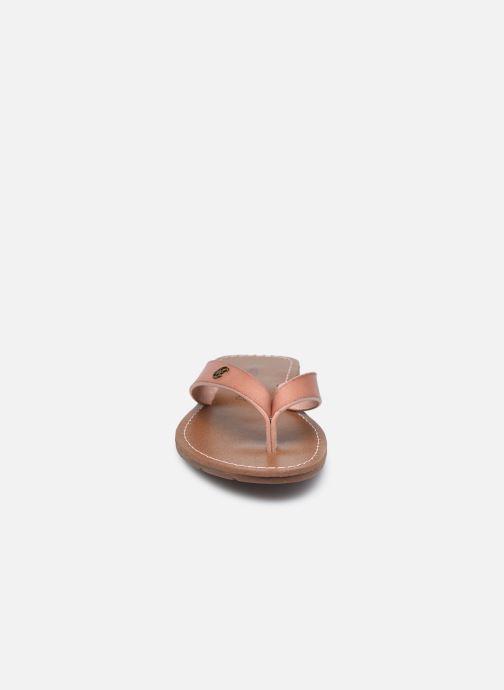 Tongs Chattawak TANGO Rose vue portées chaussures