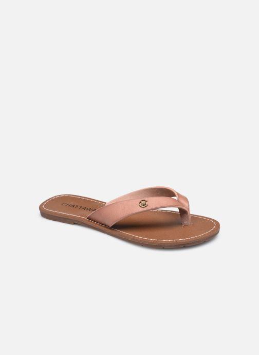 Slippers Chattawak TANGO Roze detail
