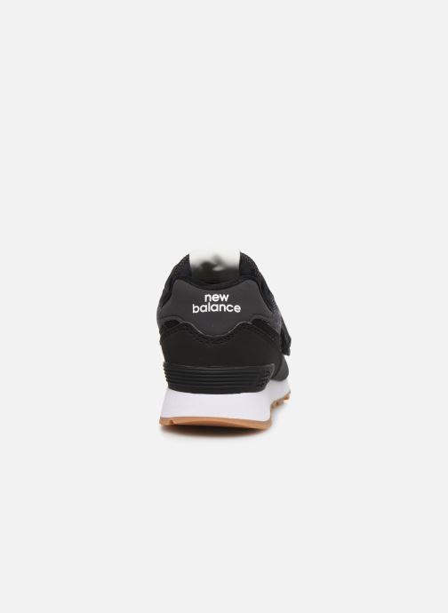 Baskets New Balance KV574 Noir vue droite