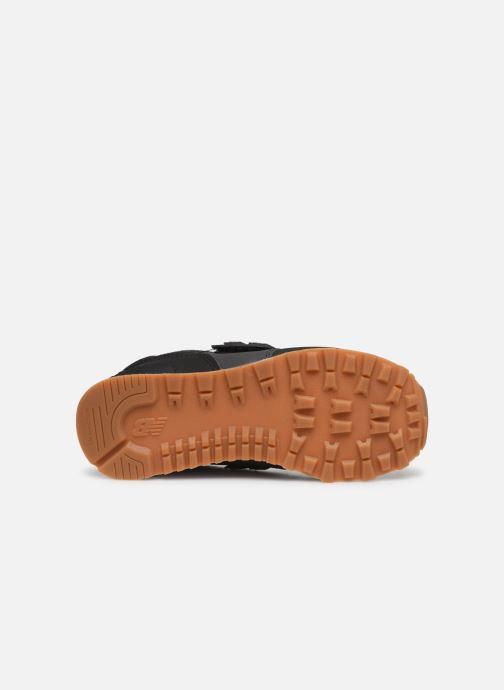 Baskets New Balance KV574 Noir vue haut