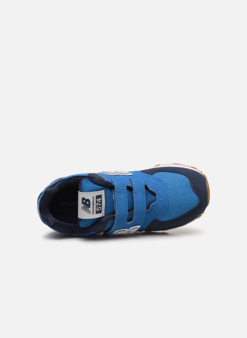 Baskets New Balance KV574 Bleu vue gauche