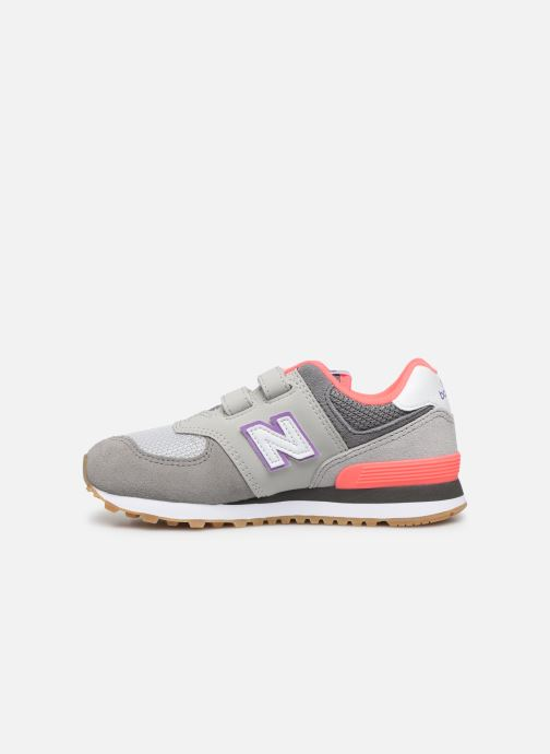 Baskets New Balance KV574 Gris vue face