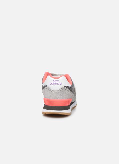 Sneakers New Balance KV574 Grå Se fra højre