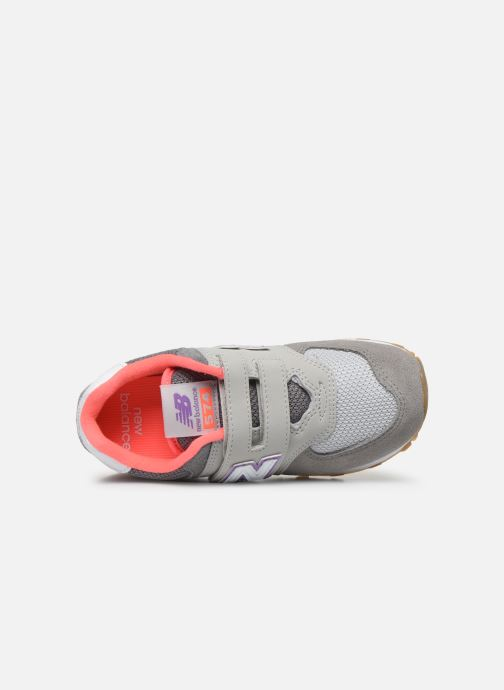 Baskets New Balance KV574 Gris vue gauche