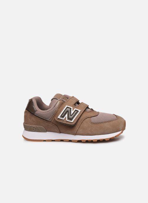 Baskets New Balance KV574 Marron vue derrière