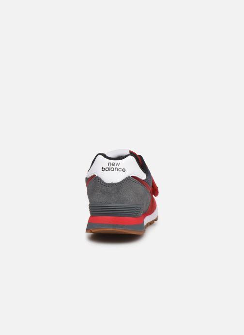 Sneakers New Balance KV574 Rosso immagine destra