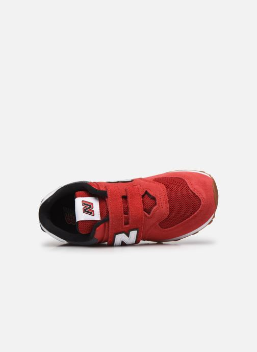 Sneakers New Balance KV574 Rosso immagine sinistra