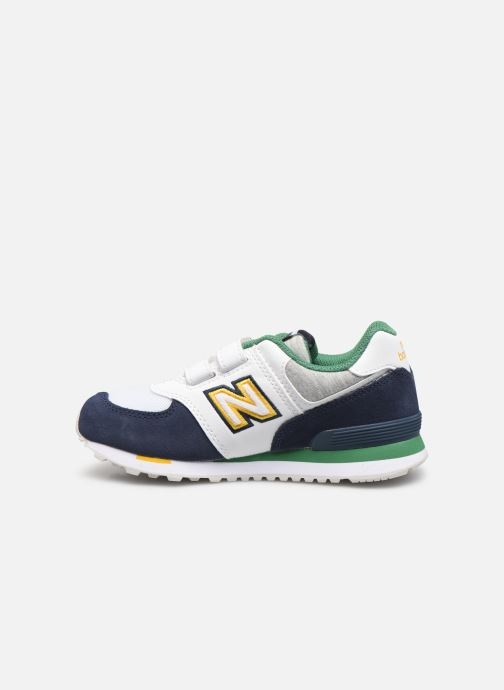 Sneakers New Balance KV574 Azzurro immagine frontale