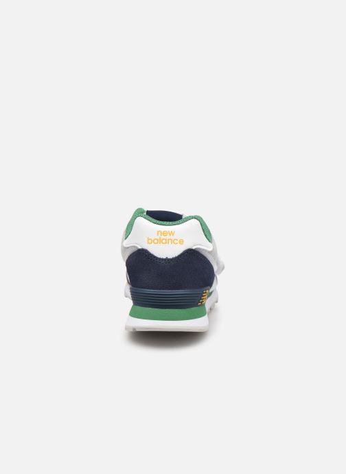 Sneakers New Balance KV574 Azzurro immagine destra