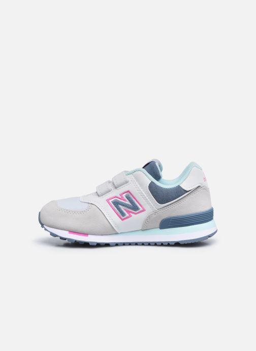 Sneaker New Balance KV574 grau ansicht von vorne