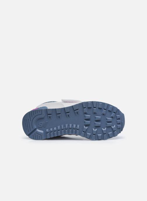Sneaker New Balance KV574 grau ansicht von oben
