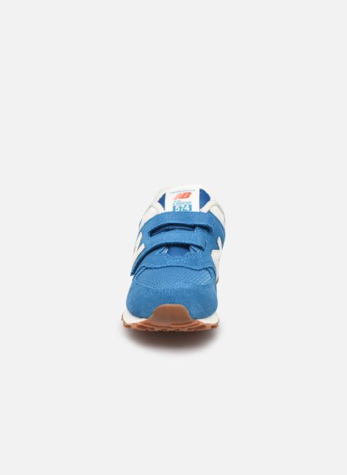 Sneaker New Balance KV574 blau schuhe getragen