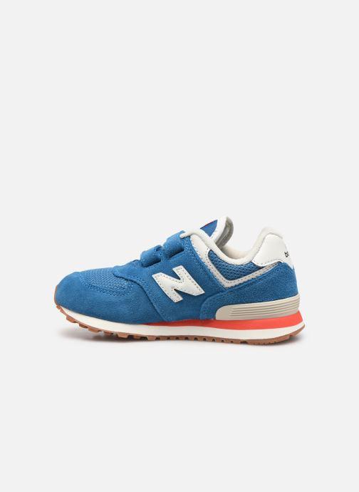 Sneaker New Balance KV574 blau ansicht von vorne