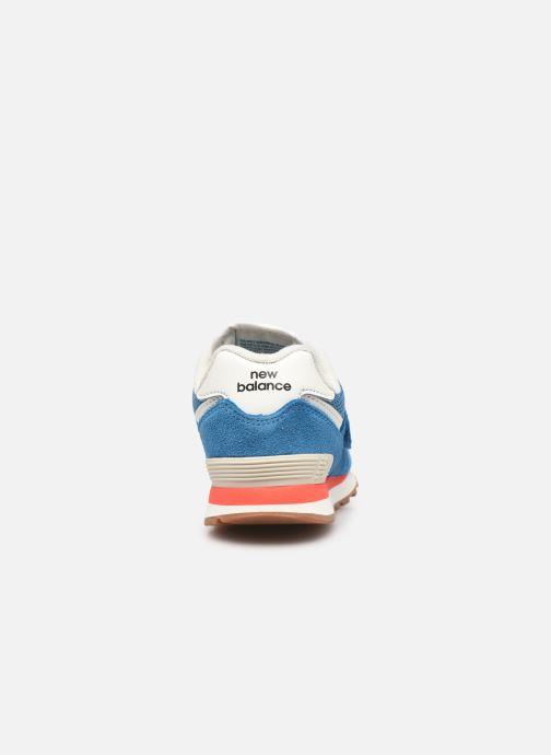 Sneaker New Balance KV574 blau ansicht von rechts