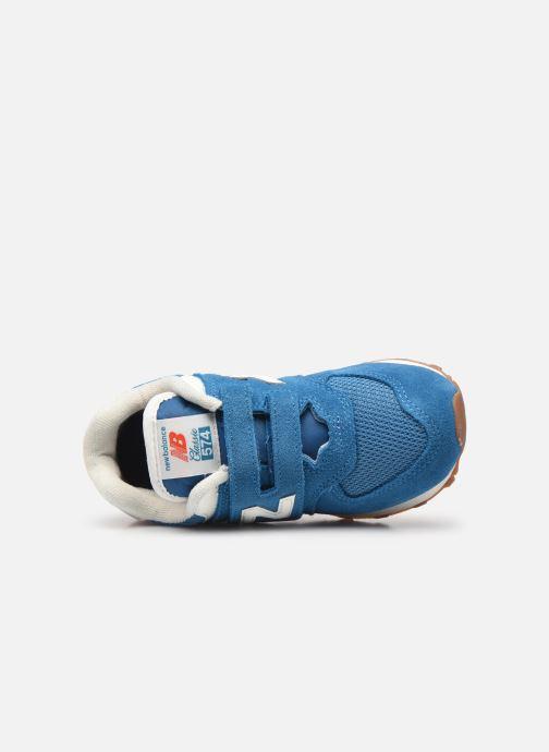 Sneaker New Balance KV574 blau ansicht von links