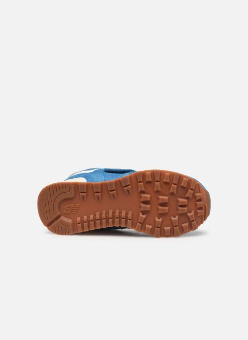 Sneaker New Balance KV574 blau ansicht von oben