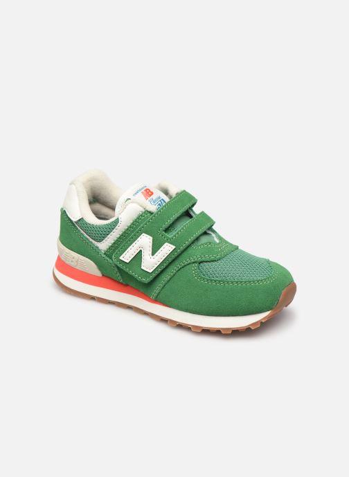 Sneaker New Balance KV574 grün detaillierte ansicht/modell