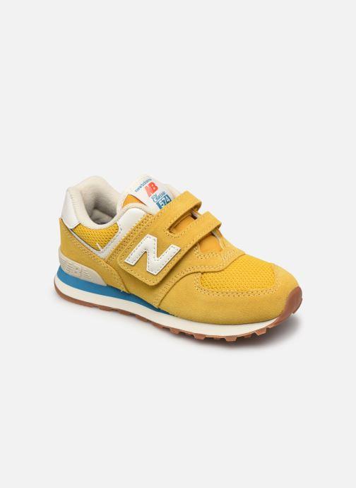 Sneaker New Balance KV574 gelb detaillierte ansicht/modell