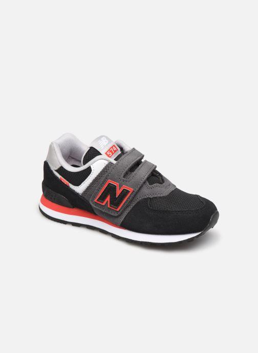 Sneaker New Balance KV574 schwarz detaillierte ansicht/modell
