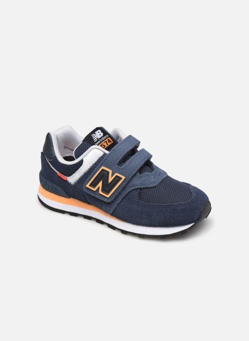 Sneaker New Balance KV574 blau detaillierte ansicht/modell