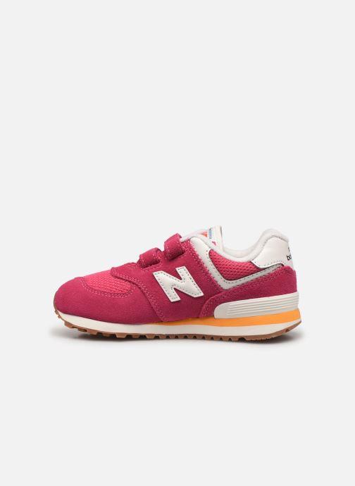 Sneaker New Balance KV574 rosa ansicht von vorne