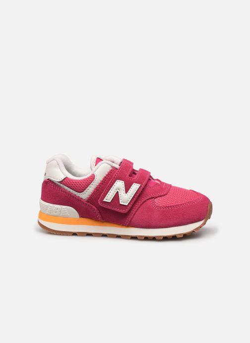 Sneaker New Balance KV574 rosa ansicht von hinten