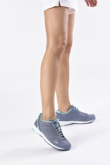 Chaussures de sport Millet Amuri Knit W Bleu vue bas / vue portée sac