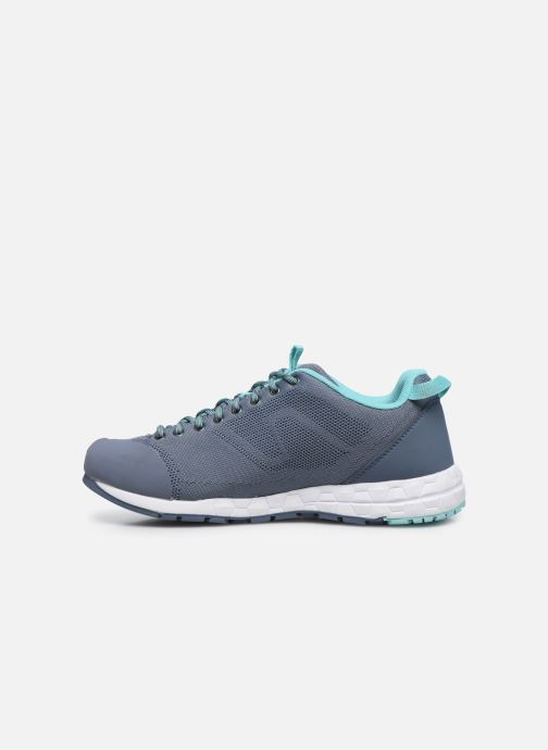 Chaussures de sport Millet Amuri Knit W Bleu vue face