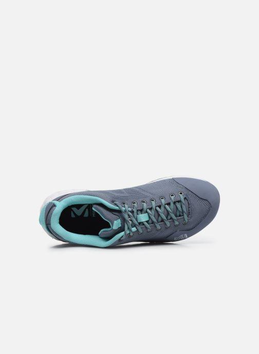 Chaussures de sport Millet Amuri Knit W Bleu vue gauche