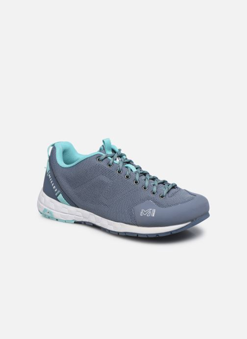 Chaussures de sport Millet Amuri Knit W Bleu vue détail/paire