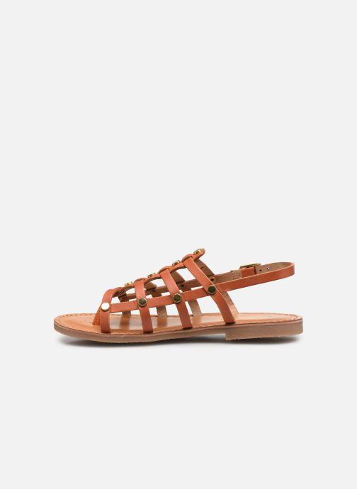 Sandali e scarpe aperte Les Tropéziennes par M Belarbi Hakea Arancione immagine frontale