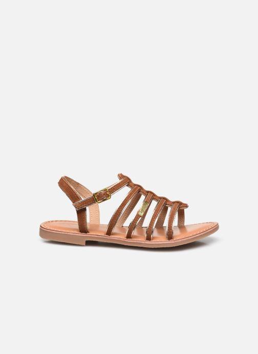 Sandales et nu-pieds Les Tropéziennes par M Belarbi Monbuck Marron vue derrière