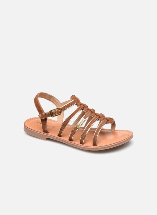 Sandales et nu-pieds Les Tropéziennes par M Belarbi Monbuck Marron vue détail/paire