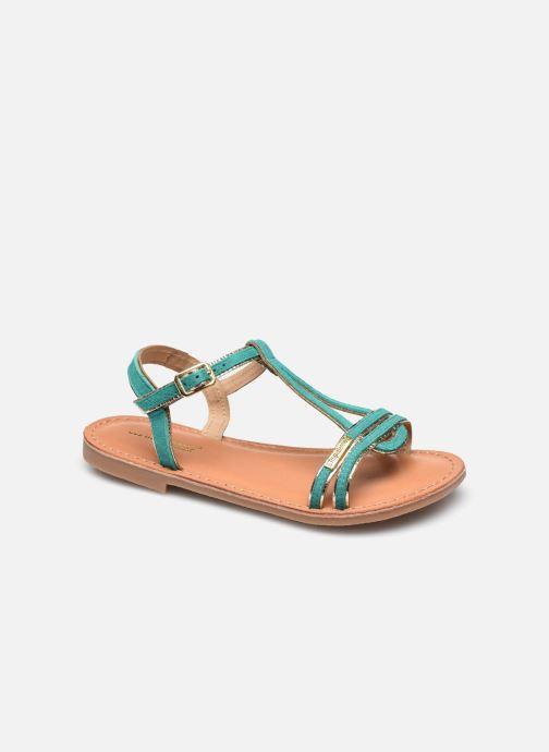 Sandalen Les Tropéziennes par M Belarbi Badabuc blau detaillierte ansicht/modell