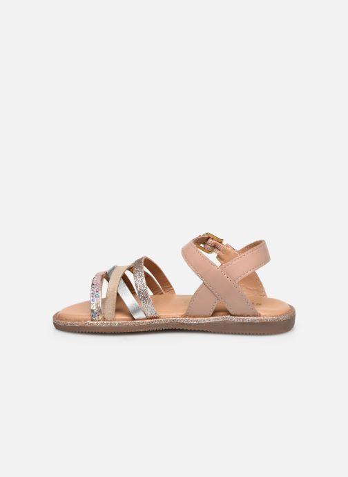 Sandales et nu-pieds Les Tropéziennes par M Belarbi Inaya Beige vue face