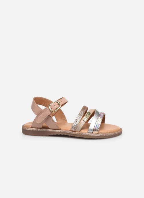 Sandales et nu-pieds Les Tropéziennes par M Belarbi Inaya Beige vue derrière