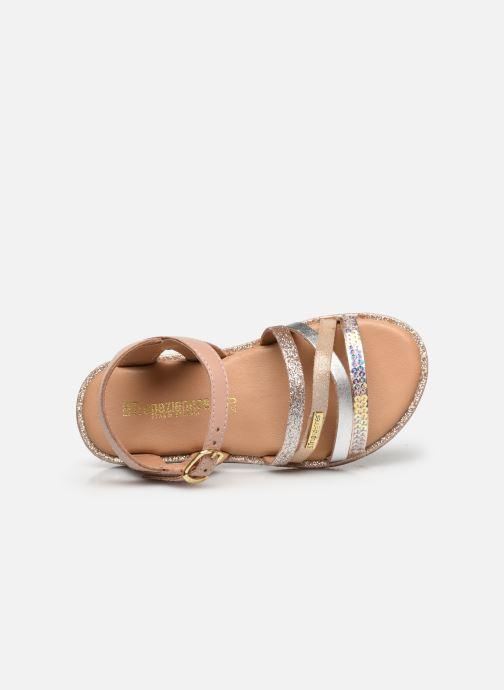 Sandales et nu-pieds Les Tropéziennes par M Belarbi Inaya Beige vue gauche